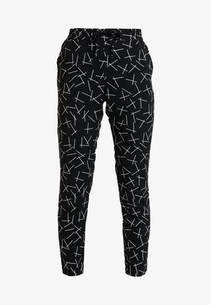 VMSIMPLY EASY PANT - Pantalones - black/mika