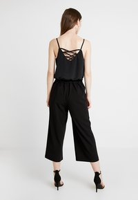 Vero Moda - VMCOCO CULOTTE PANTS - Kalhoty - black - 3