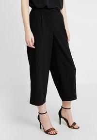 Vero Moda - VMCOCO CULOTTE PANTS - Kalhoty - black - 0