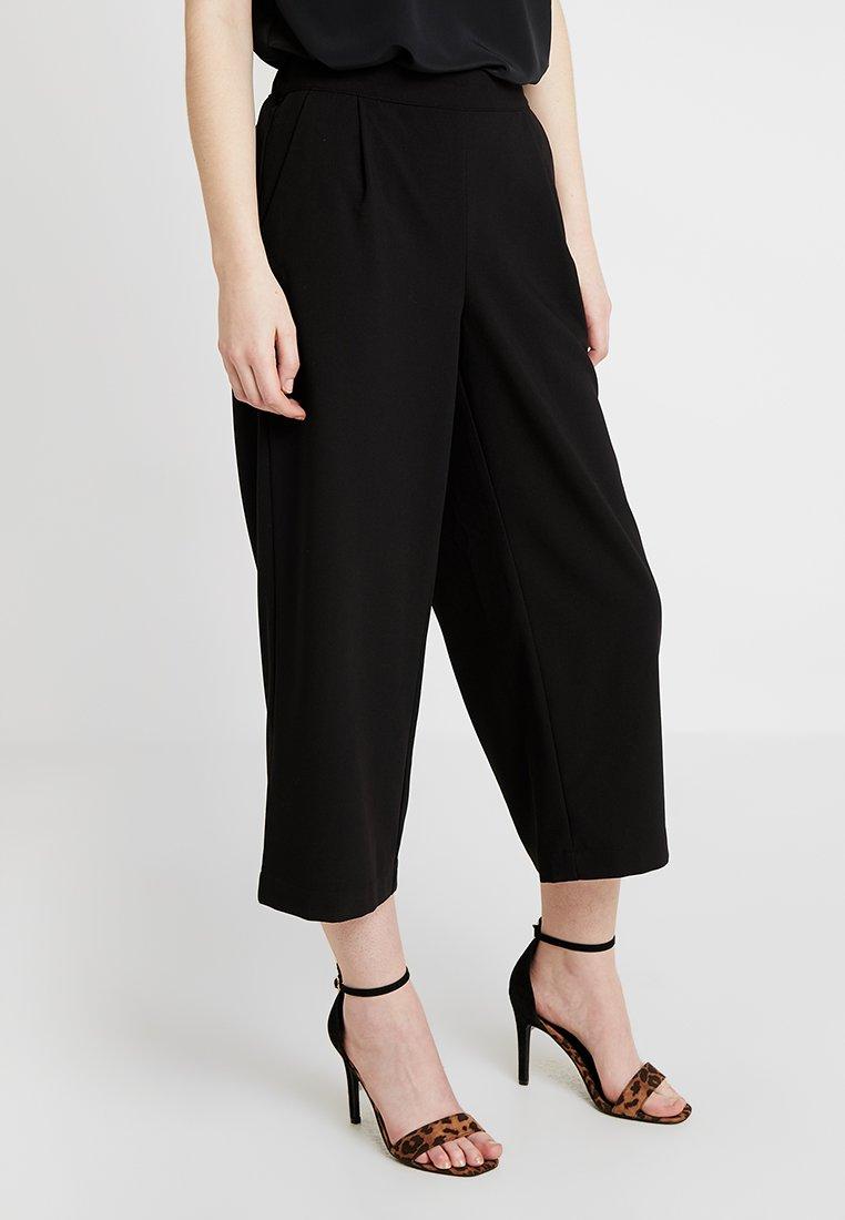 Vero Moda - VMCOCO CULOTTE PANTS - Kalhoty - black