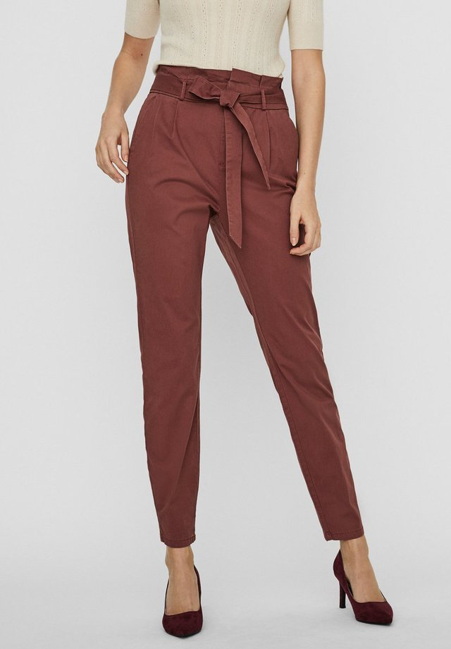 VMEVA  - Trousers - sable
