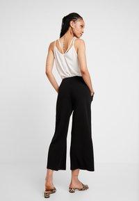Vero Moda - VMCHARLOT CULOTTE PANT - Kalhoty - black - 2
