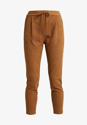 VMEVA LOOSE STRING SOFT - Kalhoty - tobacco brown