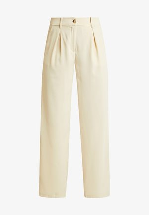 VMCOCO WIDE PANT - Tygbyxor - oyster gray
