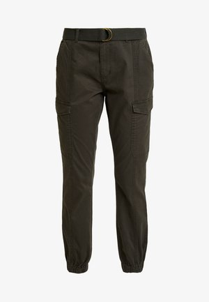 VMKARLA TAP CARGO BELT PANTS - Broek - peat