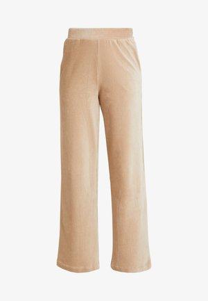 VMPAN WIDE PANTS - Trousers - camel