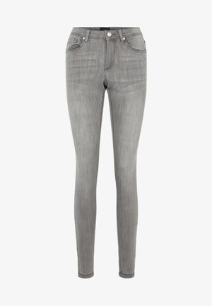 VMTANYA - Slim fit jeans - light grey denim