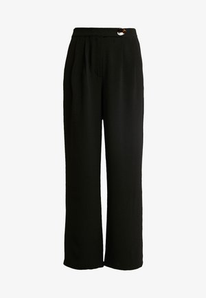 VMSILLE GOIA PANTS - Trousers - black