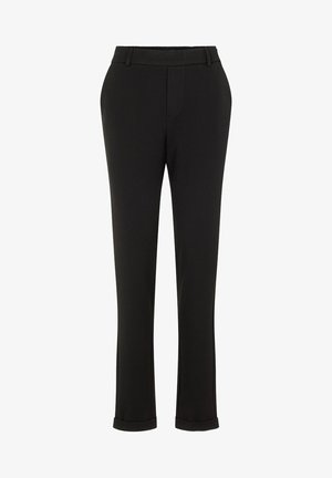 VMMAYA MR LOOSE SOLID - Pantalones - black