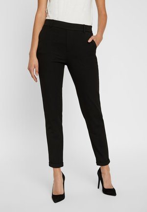 VMMAYA MR LOOSE SOLID - Trousers - black