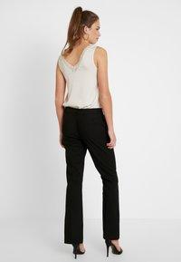 Vero Moda - VMSUSAN BOOTCUT PANT - Trousers - black - 3