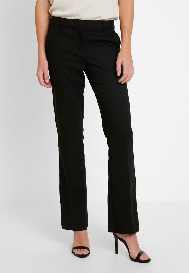VMSUSAN BOOTCUT PANT - Bukser - black
