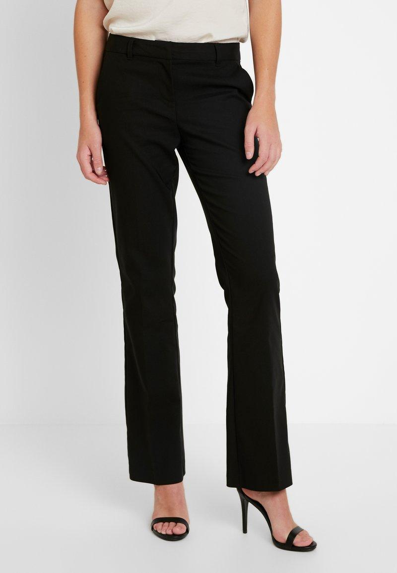 Vero Moda - VMSUSAN BOOTCUT PANT - Trousers - black