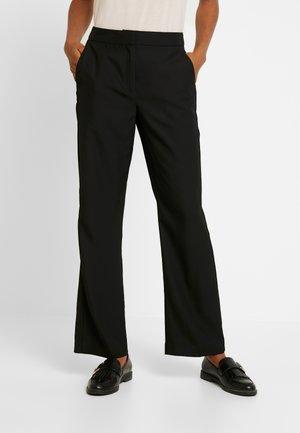 VMTASIA PANT - Spodnie materiałowe - black