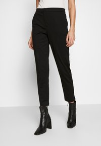 Vero Moda - VMBELLA SELMA PANTS - Kalhoty - black - 0