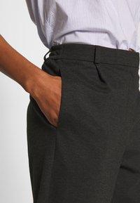 Vero Moda - VMJUSSI ELASTIC PANT - Kalhoty - medium grey melange - 4