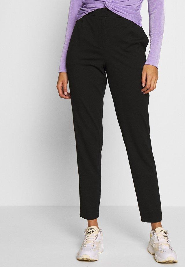 VMJUSSI ELASTIC PANT - Trousers - black