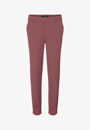 HOSE LOOSE FIT - Trousers - rose brown