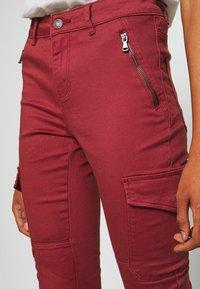 Vero Moda - VMHOT SEVEN SLIM CARGO ANKLE - Pantalones - sable - 4