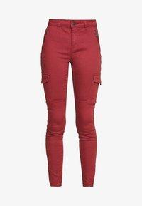 Vero Moda - VMHOT SEVEN SLIM CARGO ANKLE - Pantalones - sable - 3