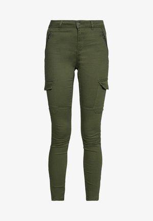 VMHOT SEVEN SLIM CARGO ANKLE - Bukse - ivy green