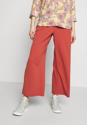 VMMARIA WIDE PANT - Trousers - marsala