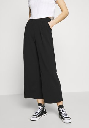 VMMARIA WIDE PANT - Trousers - black