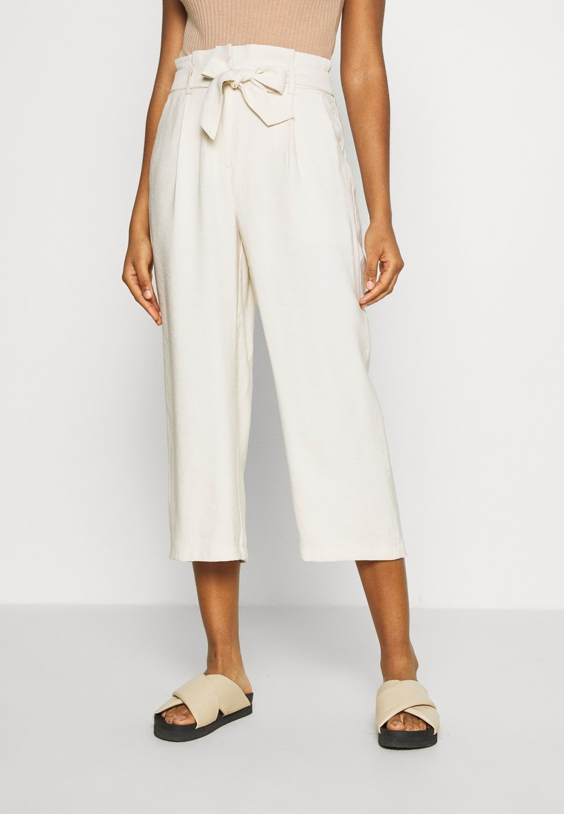 Vero Moda - VMEMILY CULOTTE PANT - Trousers - birch