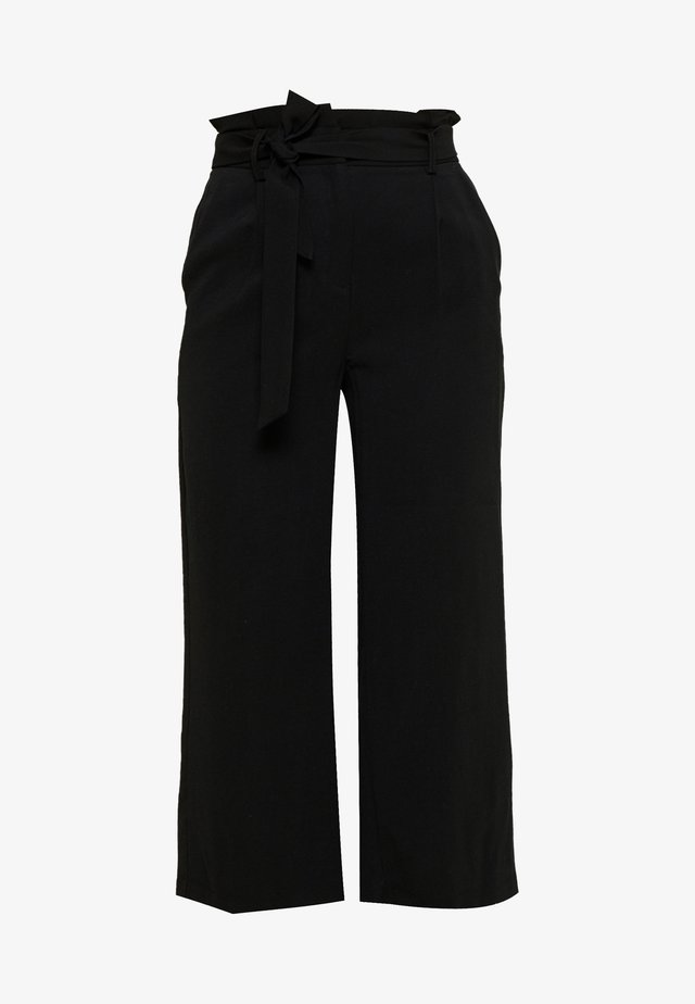 VMEMILY CULOTTE PANT - Tygbyxor - black