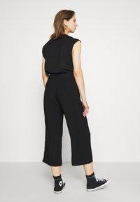 Vero Moda - VMEMILY CULOTTE PANT - Trousers - black - 2