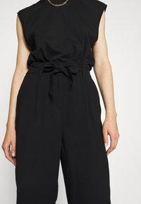 Vero Moda - VMEMILY CULOTTE PANT - Trousers - black - 4