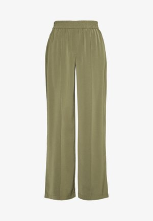 VMKARINA WIDE PANT  - Trousers - ivy green