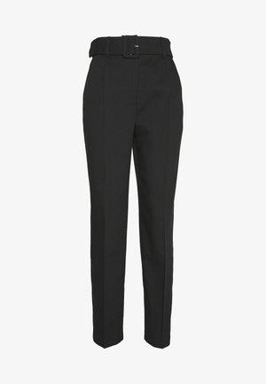 VMKRISTA HW CIGARET ANKLE PANT - Pantalon classique - black