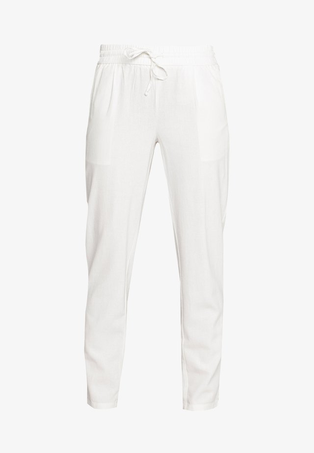VMHELENMILO ANCLE PANT - Tygbyxor - snow white