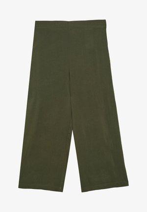 VMSIMPLY EASY CULOTTE PANT - Spodnie materiałowe - ivy green