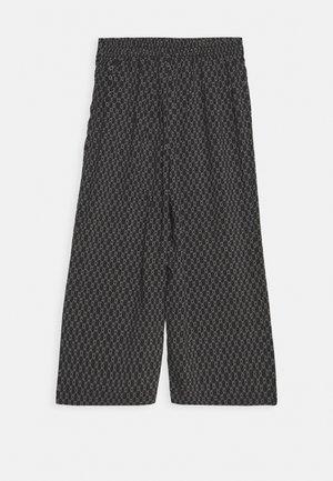 VMSIMPLY EASY CULOTTE PANT - Trousers - black/felicia tornado