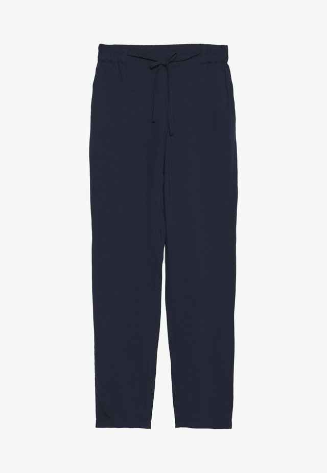 VMSIMPLY EASY LOOSE PANT - Tygbyxor - navy