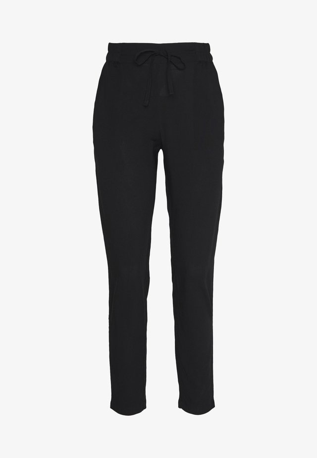 VMSIMPLY EASY LOOSE PANT - Tygbyxor - black