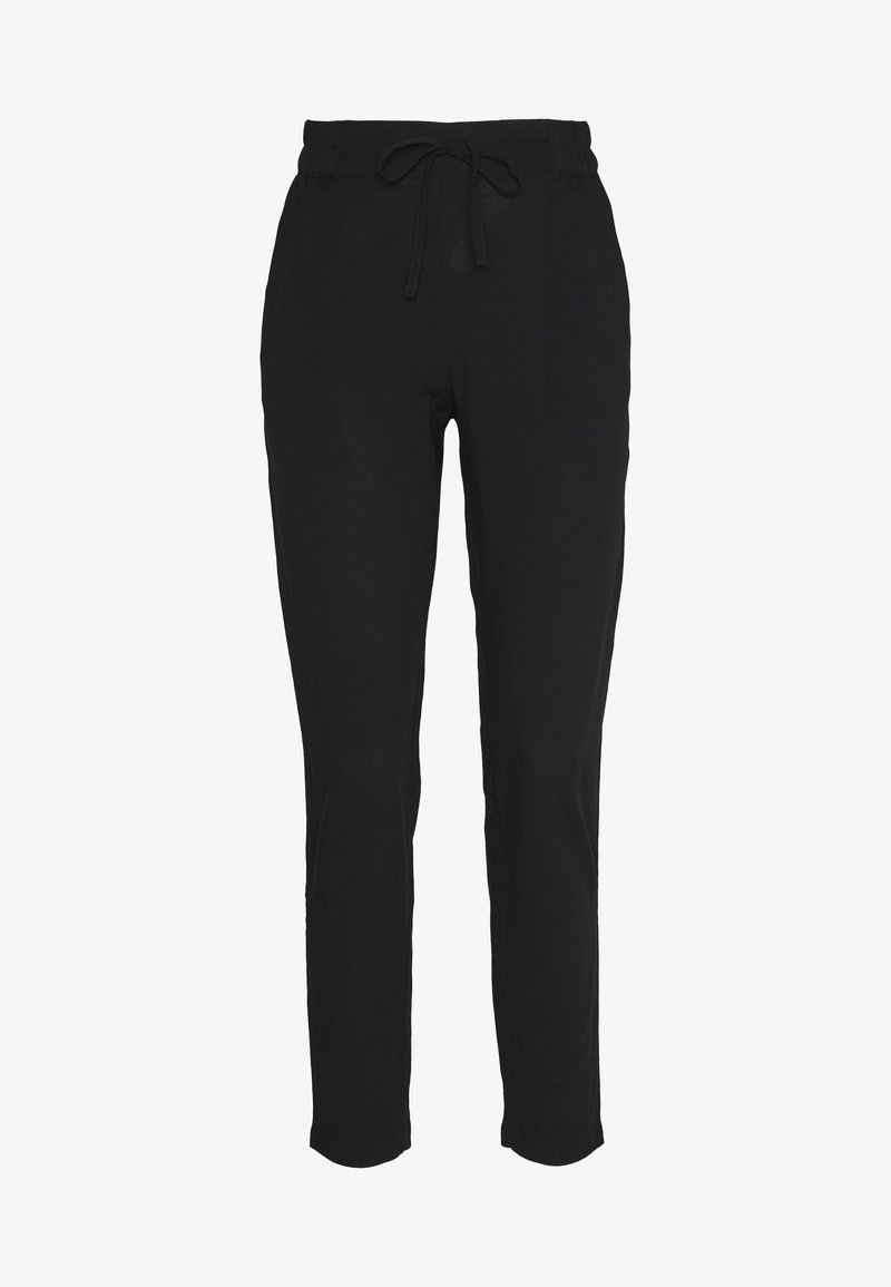 Vero Moda - VMSIMPLY EASY LOOSE PANT - Tygbyxor - black