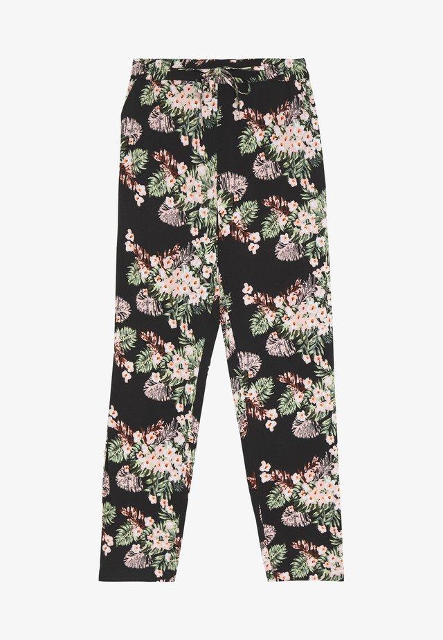 VMSIMPLY EASY LOOSE PANT - Pantalones - black/pilar