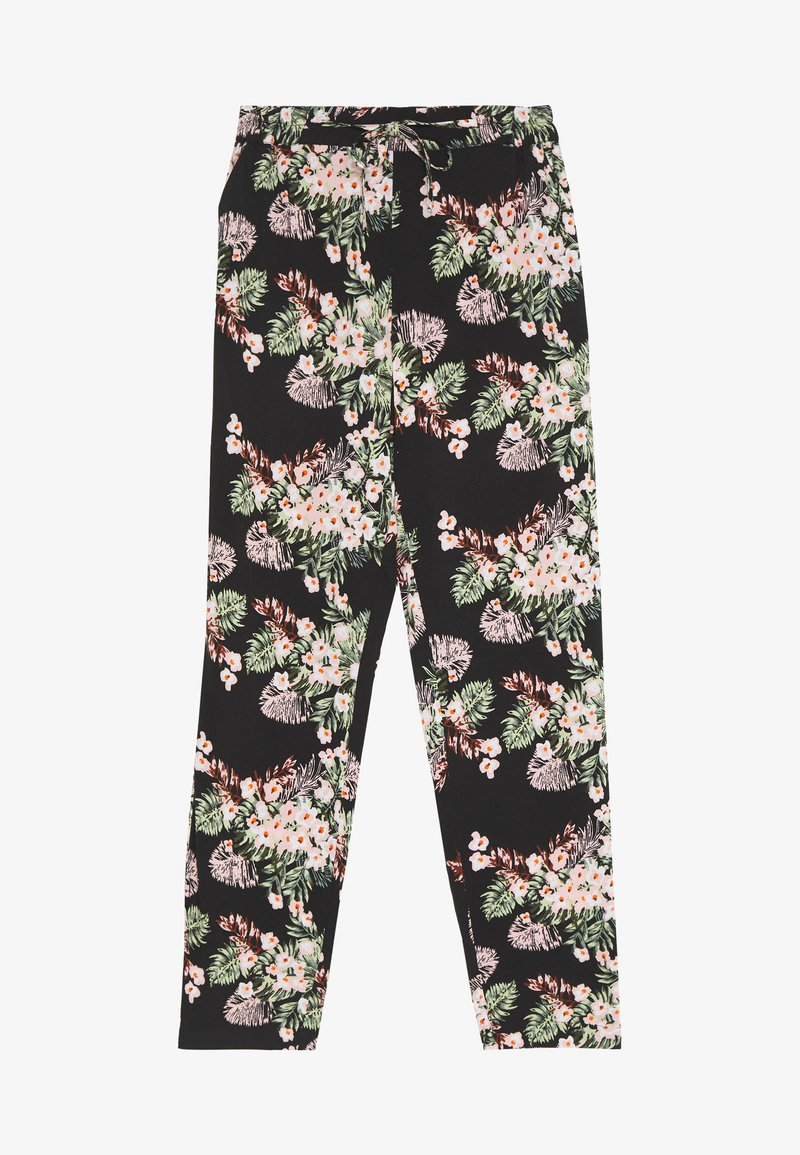 Vero Moda - VMSIMPLY EASY LOOSE PANT - Trousers - black/pilar