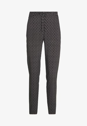 VMSIMPLY EASY LOOSE PANT - Trousers - black/felicia tornado