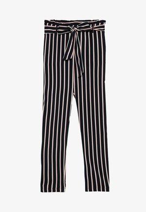 VMSIMPLY EASY PAPERBAG PANT - Trousers - night sky/naja
