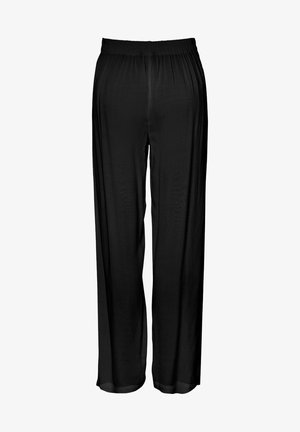 HOSE WEITE HIGH WAIST - Bukser - black 1