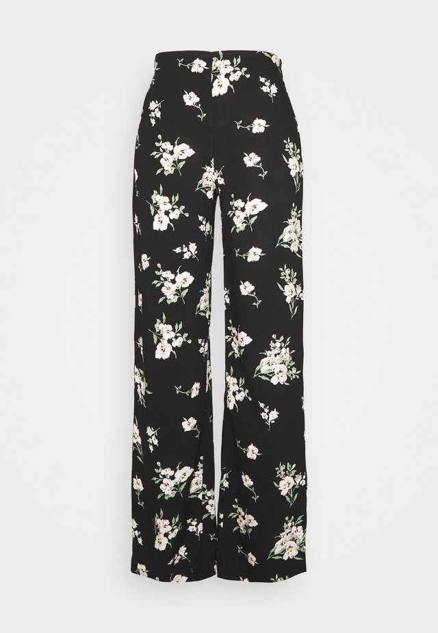VMSIMPLY EASY WIDE PANT  - Broek - black