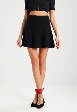 VMFRESNO - A-line skirt - black