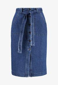 Vero Moda - Spódnica ołówkowa  - medium blue denim - 3