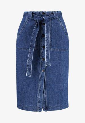Spódnica ołówkowa  - medium blue denim