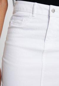 Vero Moda - VMHOT NINE PENCIL SKIRT MIX - Kokerrok - bright white - 4
