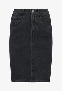Vero Moda - VMHOT NINE PENCIL SKIRT MIX - Falda de tubo - black - 4